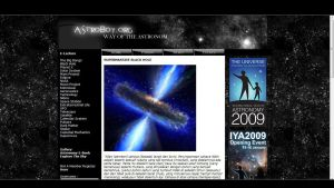 Astro web by janu-onliners