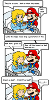 cake in the oven 9 by Nintendrawer