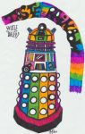 Skittle Dalek by OneTrickPwny