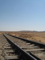 Railroad Tracks by GeshemStock