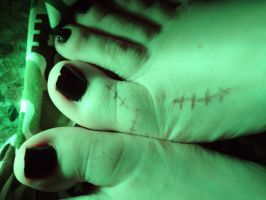 Frankenstein's Black Nails by Yes-Mistress--Please