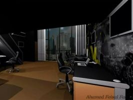 Office Interior design by damianf86
