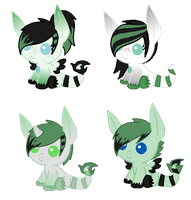 Zenyu Foals for wolfieraver (Closed) by xXSinfulAdoptsXx