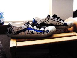 Death note L shoes by The-Tall-Midget