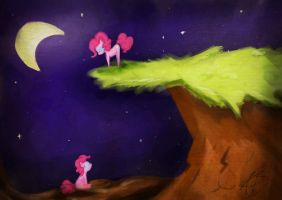 Pinkie Pie's Cliff by strabArybrick