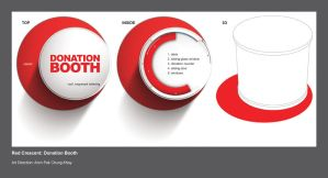 Red Crescent: Donation Booth by alvinpck