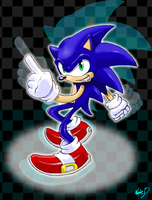 Sonic the Hedgehog 01 by Nate-D