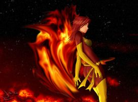 The Dark Phoenix by wingzero620