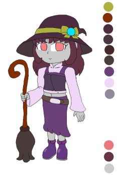 Zombie Witch Enid's new look by Basher-the-Basilisk