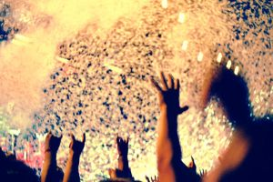 Mosh Pit Lomography by PoisonGirl-sts