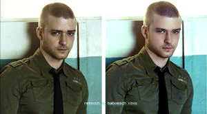justin timberlake retouch by baboesch