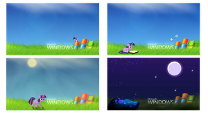 Twilight Sparkle in Windows Wallpaper Bundle by Evangel-Windrunner