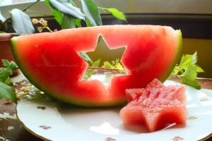 A watermelon surprise by Floreina-Photography