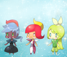 Pokemon Leaders. Adoptables Set 1 by trehman