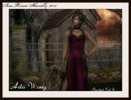 RE4 Ada Wong by IamRinoaHeartilly