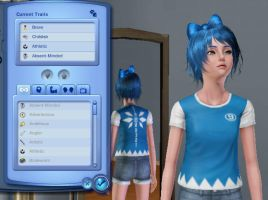My cirno in the Sims3 by Boldblade