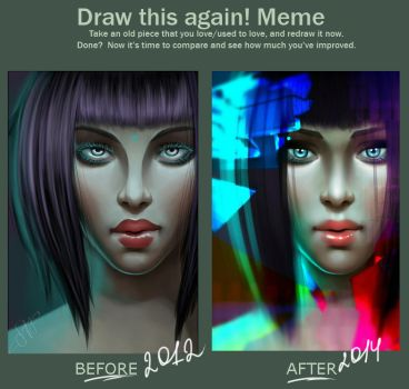 Before|After by SofichixHaru