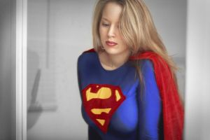 Supergirl - Lovely in the mirror... by ladynoelle