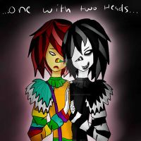 One With Two Heads by PuppetlessDoll