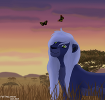 Evening walk with... - request by M-WingedLioness