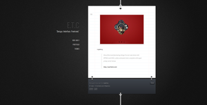 Tumblr Theme - Rope and Paper by ak-i