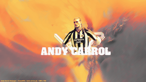 Andy Carroll Walpaper by SimonT95