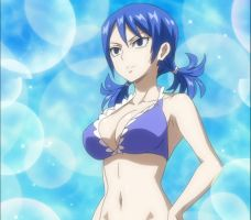 Fairy Tail 07 1080p  Juvia Lockster by DomesticAbuseIsFunny