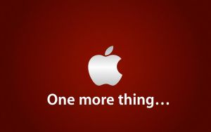 "Apple Wall ""One more thing..."" by TheDevartist"