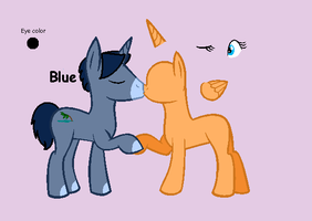 Mlp: Blue Breedable CLOSED! by FrankinPoodle
