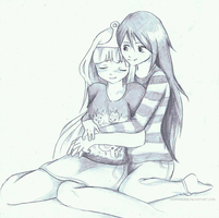 Marceline x Bonnibel by Suzanne98
