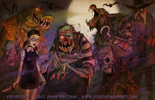 THE BEAST MENAGERIE by Hartman by sideshowmonkey
