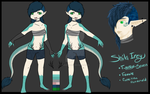 Shila Reference Sheet by Trash--Queen