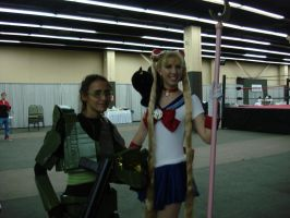 Master Chief meets Sailor Moon by Gubreez