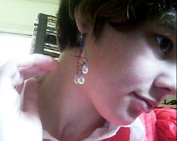 4th of july special earrings by Galasdian