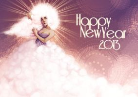 Happy New Year 2013 by drawingum