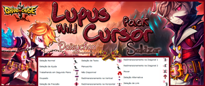 Lupus Wild Cursor Pack by DaisychanOrange