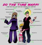time warp meme by darkeyblade