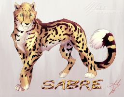 Sabre Posed by whisperpntr