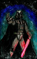 Darth Vader Fan art by blackbicho