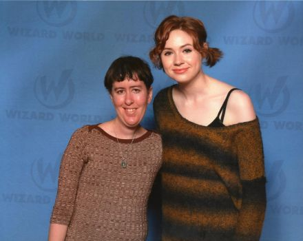 Karen Gillan and Me by StarSeekerDragoness