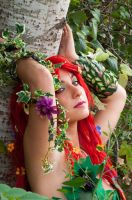 Poison Ivy Cosplay by TsubameRain