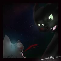 Ashfur's End by Dawnfirelunah