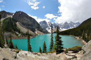 Moraine Lake by Cleo101