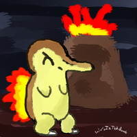 Magumate the Cyndaquil by SnivyIzTehBomb