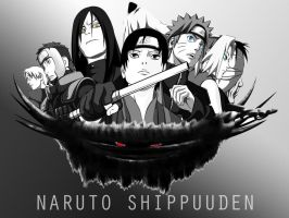 Naruto Shippuuden Wallpaper by EclairDesigns