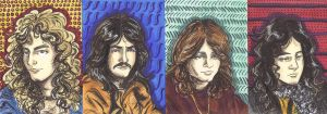 Led Zeppelin cards by cozywelton