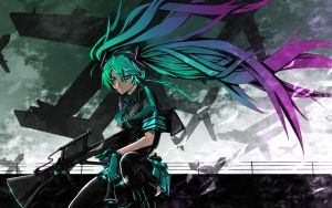 Vocaloid Wallpaper by razgriz12991