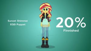 Sunset Shimmer wip by AlinaDreams00