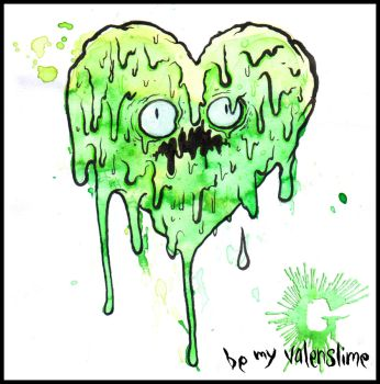 be my valenslime by GLoeNn