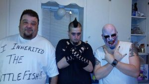 My friends and I before the Gwar Show 10/30/2014 by GwarBeast